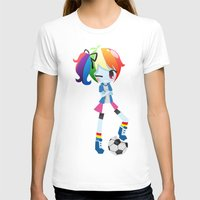 mlp T-shirts featuring MLP - Rainbow Dash by Choco-Minto