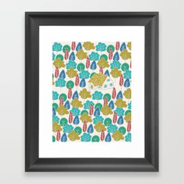Happy Hermit Framed Art Print