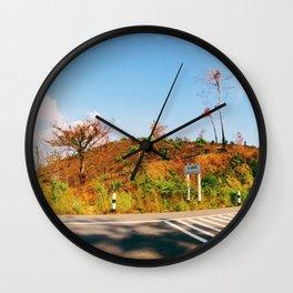 Lost in summer Wall Clock