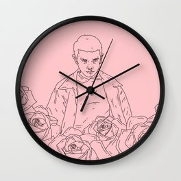 Eleven digital artwork Wall Clock