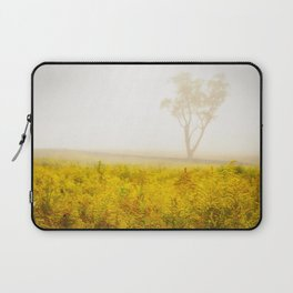 Dreams of Goldenrod and Fog Laptop Sleeve