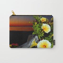 Spring Flowers at Dusk Carry-All Pouch