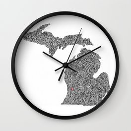 Grand Rapids Wall Clock