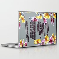 warrior Laptop & iPad Skins featuring warrior by gasponce