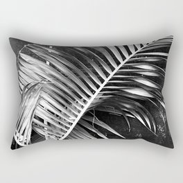 Avante-Garde Palm Leaves Fine Art Photo Rectangular Pillow