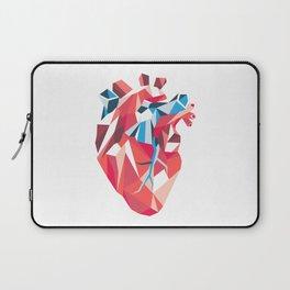 Poligon Heart Laptop Sleeve