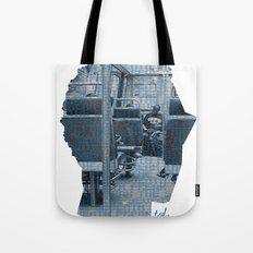 Poster Face #1 Tote Bag