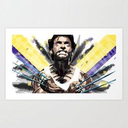 Hero by adamantium claws Art Print