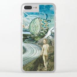 ...Que sera votre vie... Clear iPhone Case
