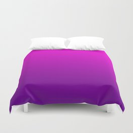 Pink - Purple Ombre Gradient Duvet Cover