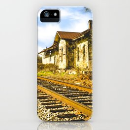 Railroad Mayfield iPhone Case