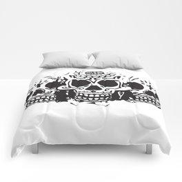 Skull heads Comforters
