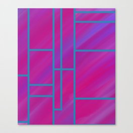 segmented (two) Canvas Print