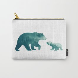 Bears Forest Carry-All Pouch