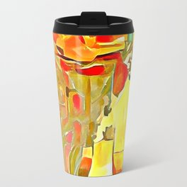 Flowers in Vases Travel Mug