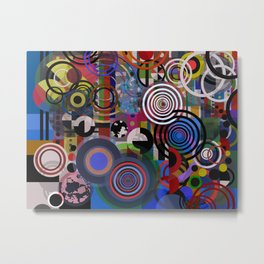 Abstract composition 129 Metal Print