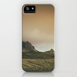 Mesmerized By the Quiraing V iPhone Case