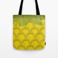 pineapple Tote Bags featuring Pineapple by Kakel