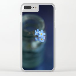Dont forget us Clear iPhone Case