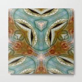 Cube Skin Metal Print