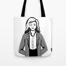 Winky Jacket Tote Bag