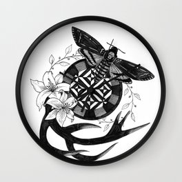 Acherontia Atropos - Hannibal Wall Clock