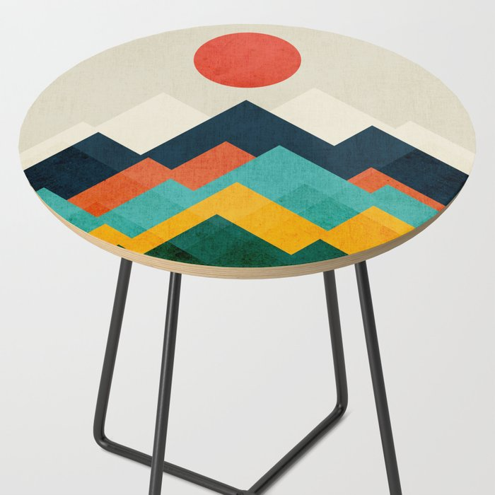 The hills are alive Side Table