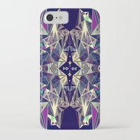 kaleidoscope iPhone & iPod Cases featuring Kaleidoscope by QUEQZZ
