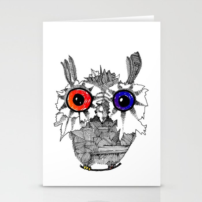 Small Owl Stationery Cards