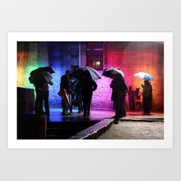 Rainbowed Art Print