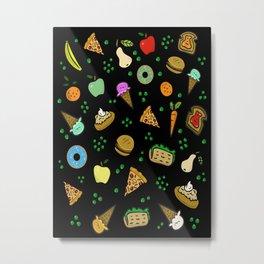 Fun Food Metal Print