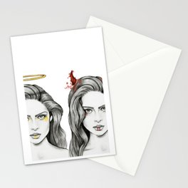 Angel Face & Hellfire Stationery Cards