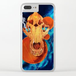 Hungry Gods Clear iPhone Case