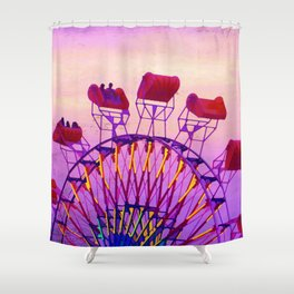 Rides of Summer Shower Curtain