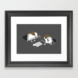 CMD F Framed Art Print