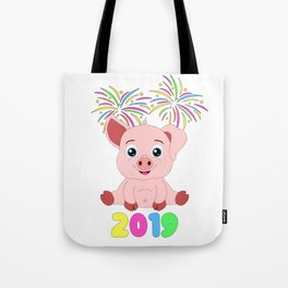 Year Of The Pig Chinese New Year Astrology Zodiac Tote Bag