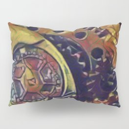 Gears of Time Pillow Sham