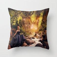 Masha and the Bear Throw Pillow