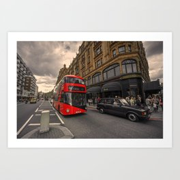 A new bus for London  Art Print