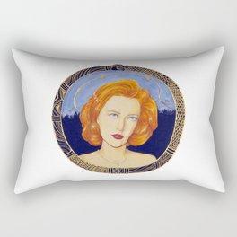 Patron Saint of Skeptics Rectangular Pillow
