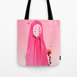 Kaonashi-Valentines Tote Bag