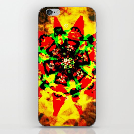 Tribal colors iPhone & iPod Skin