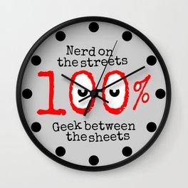 Nerd Geek Wall Clock