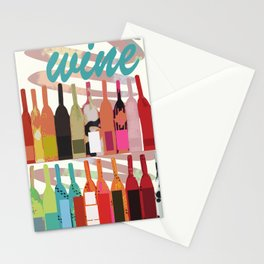 Lisa Wine Stationery Cards