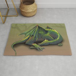 Sleeping dragon Rug