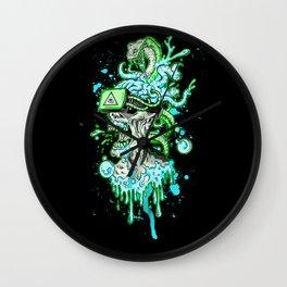VIRTUAL NIGHTMARE Wall Clock
