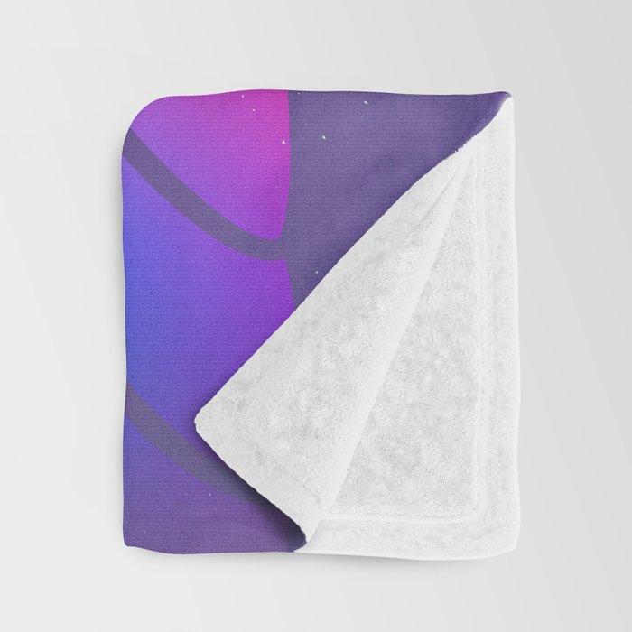 Llamita violeta by #Bizzartino Throw Blanket