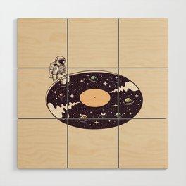 Cosmic Sound Wood Wall Art