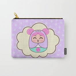 Kari smiling Carry-All Pouch
