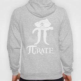 Pi-Rate Funny Pi Day product 3.14159 Gift for Nerds Geeks Hoody